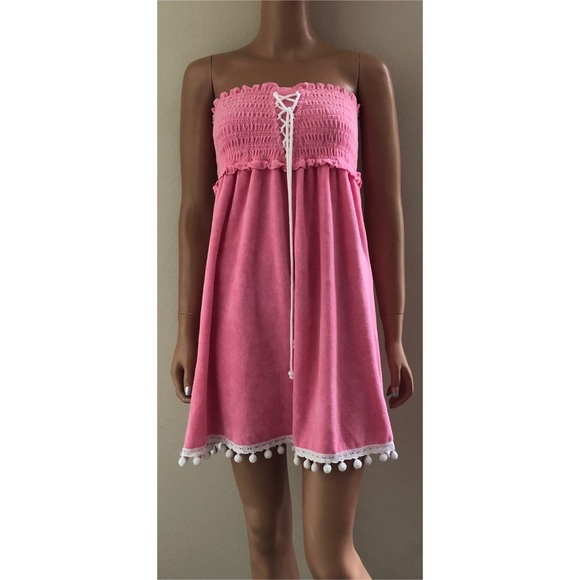 b78df1bd6c4 Juicy Couture Dresses   Skirts - NWOT Juicy Couture Pink Terry Cloth Dress
